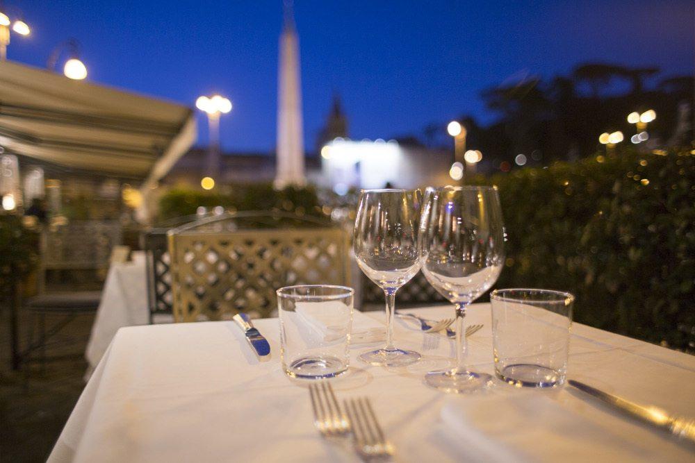 ristorante allaperto roma piazza del popolo